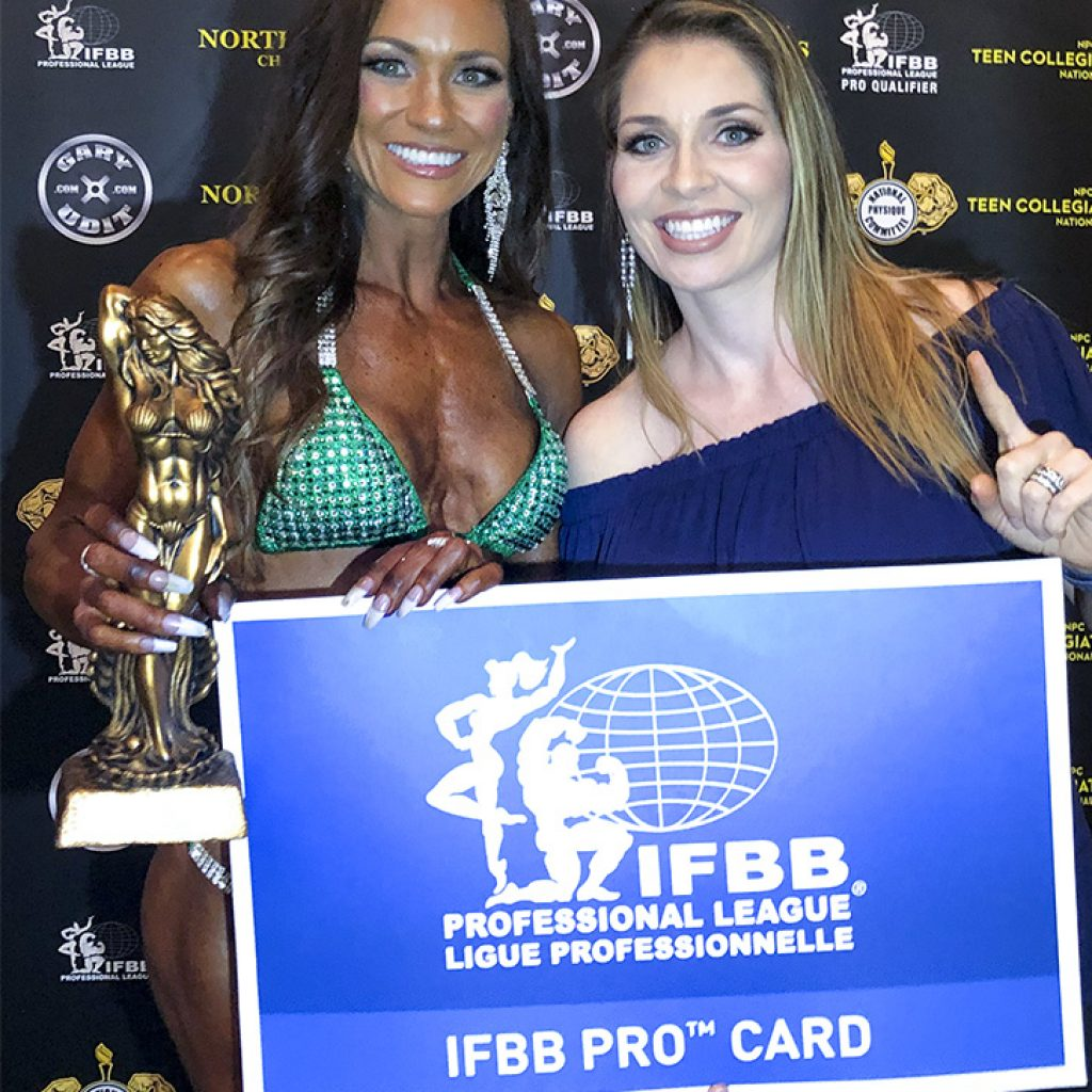 Off-season Dieting for IFBB Pro Client
